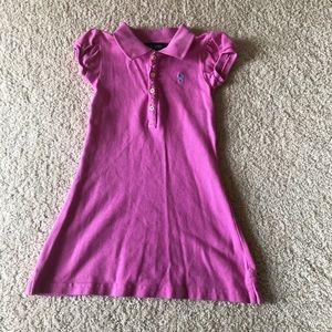 Girls 2T Ralph Lauren Short Sleeve Dress